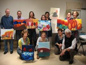 schilderworkshop A Rocha heuvelrug